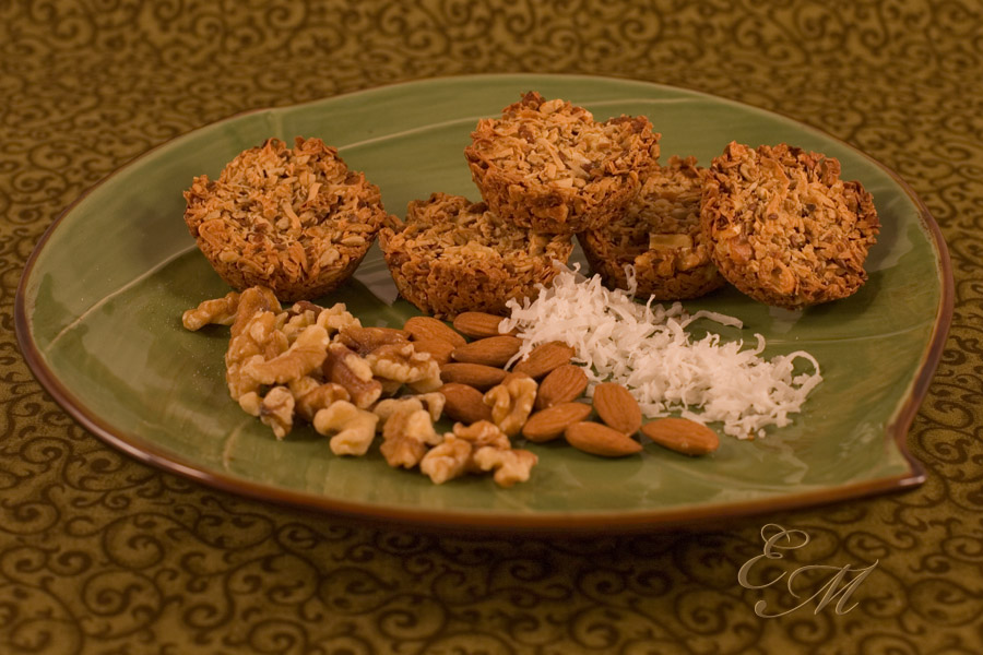 Coconutty Granola Rounds