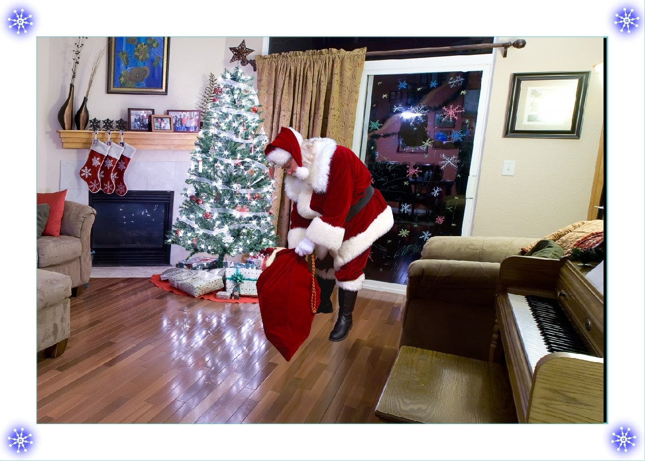 Captivating Santa In Living Room Picture Nakicphotography Part 4