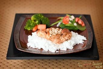 Thai Peanut Butter Chicken