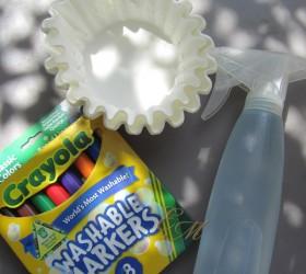 Tie-Dye Paper Activity