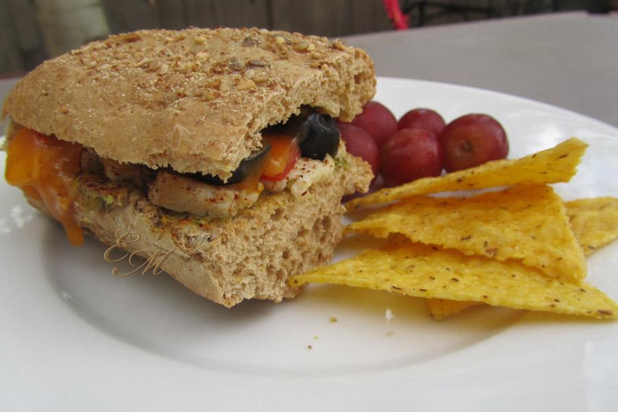 Chicken Taco Sandwich