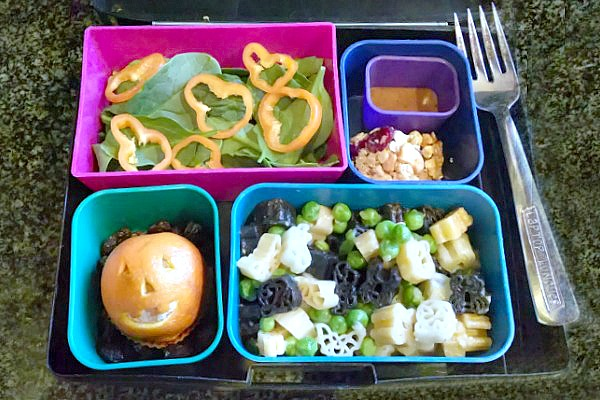 Halloween lunch laptop lunch box evolving motherhood