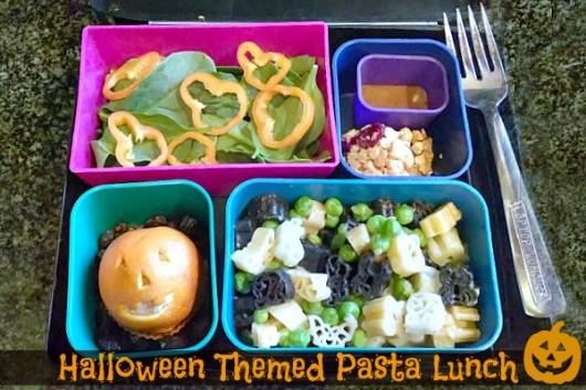 Halloween lunch laptop lunch box evolving motherhood