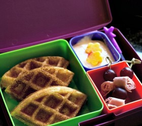 waffle dipping lunch 2