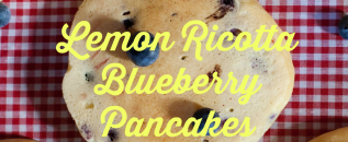 yw Lemon ricotta blueberry pancakes