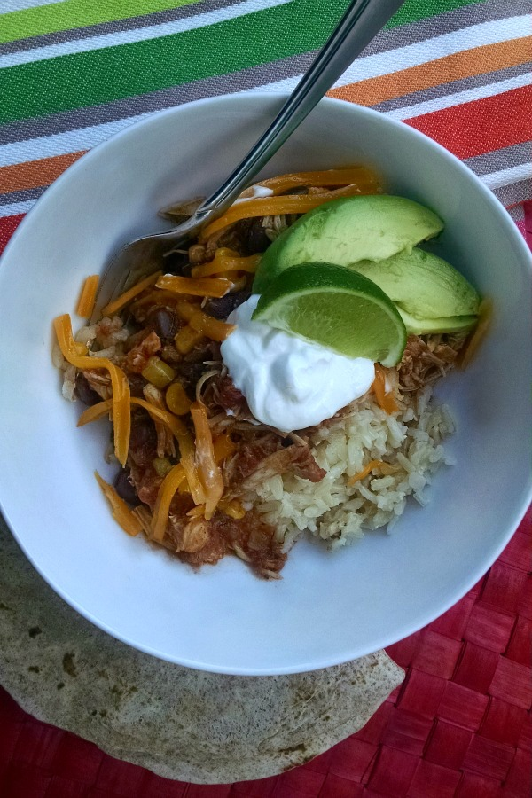 Slow Cooker Taco Bowl 2