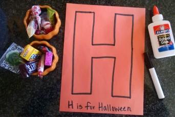 Preschool Letter H activity
