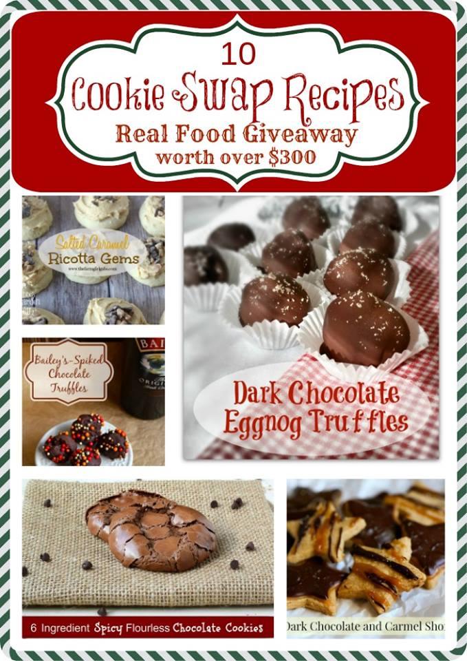 #realcookieswap real food cookies swap