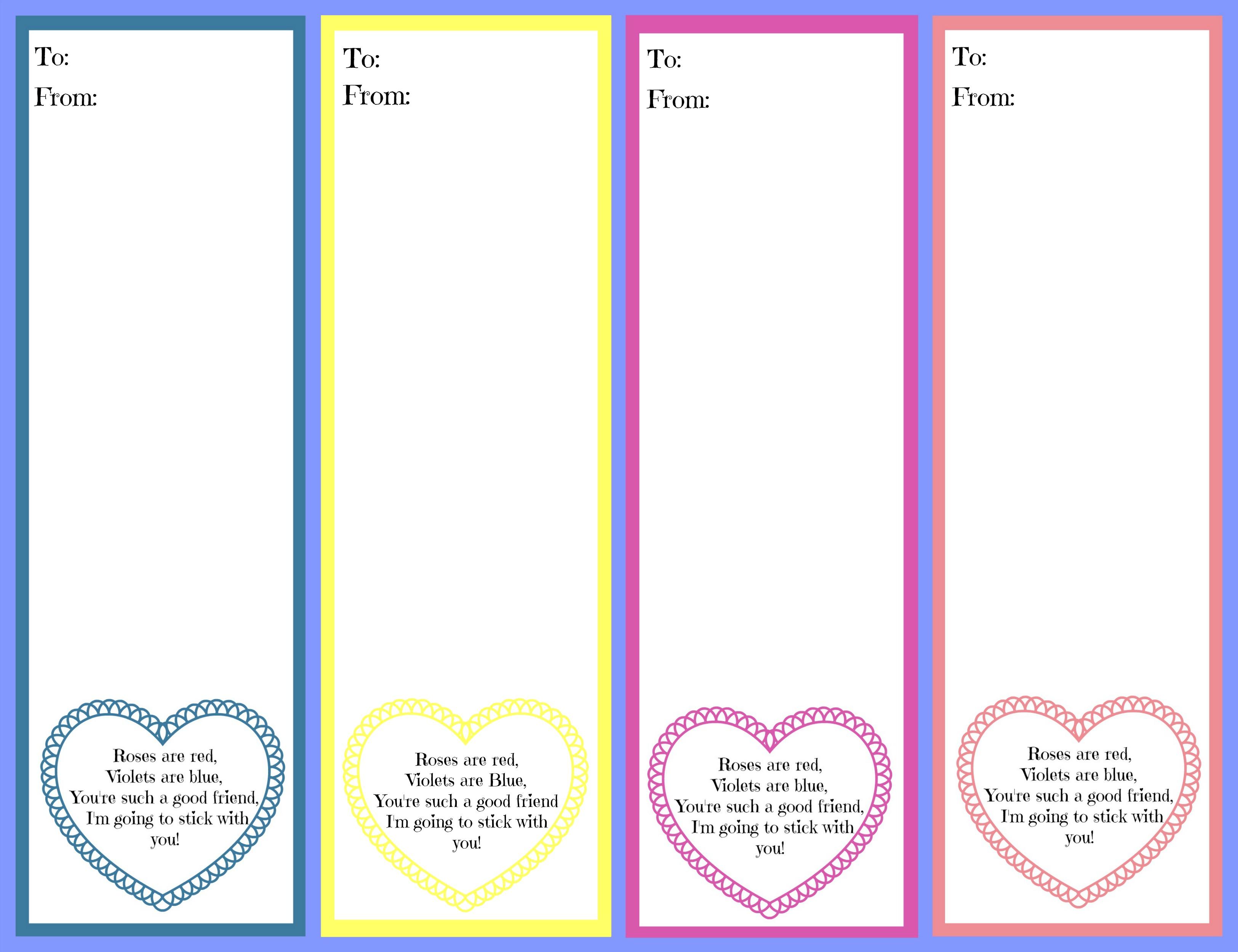 Free 123 Valentine S Day Cards Design Corral
