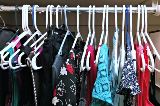 My closet makeover using The Life-Changing Magic of Tidying Up