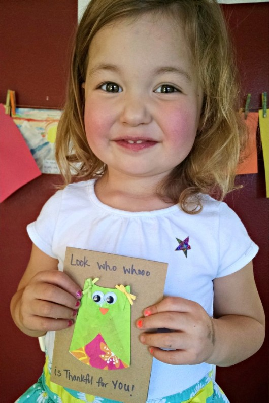 Adorable Owl cards to show your gratitude