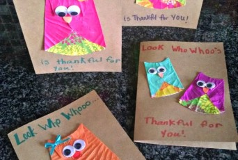 Who is thankful for you Owl cards